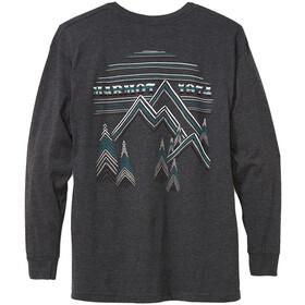 Marmot Cervin Langarm T-Shirt Herren charcoal heather